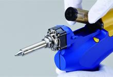 Упрощенная очистка фильтровальной трубы пистолета Hakko FR-301