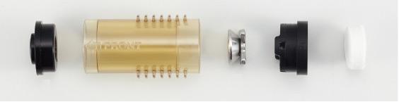 Конструкция фильтровальной трубы пистолета Hakko FR-301