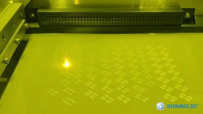 Изготовление спинального импланта с использованием 3D-принтера по металлу EP-M250